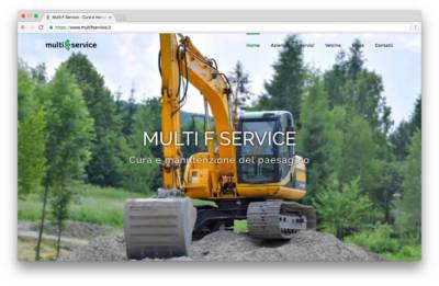 Multi F Service - Homepage