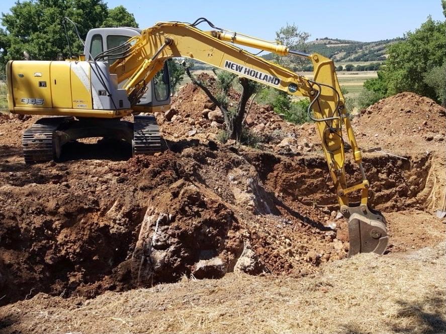 Escavazione Per Piscina