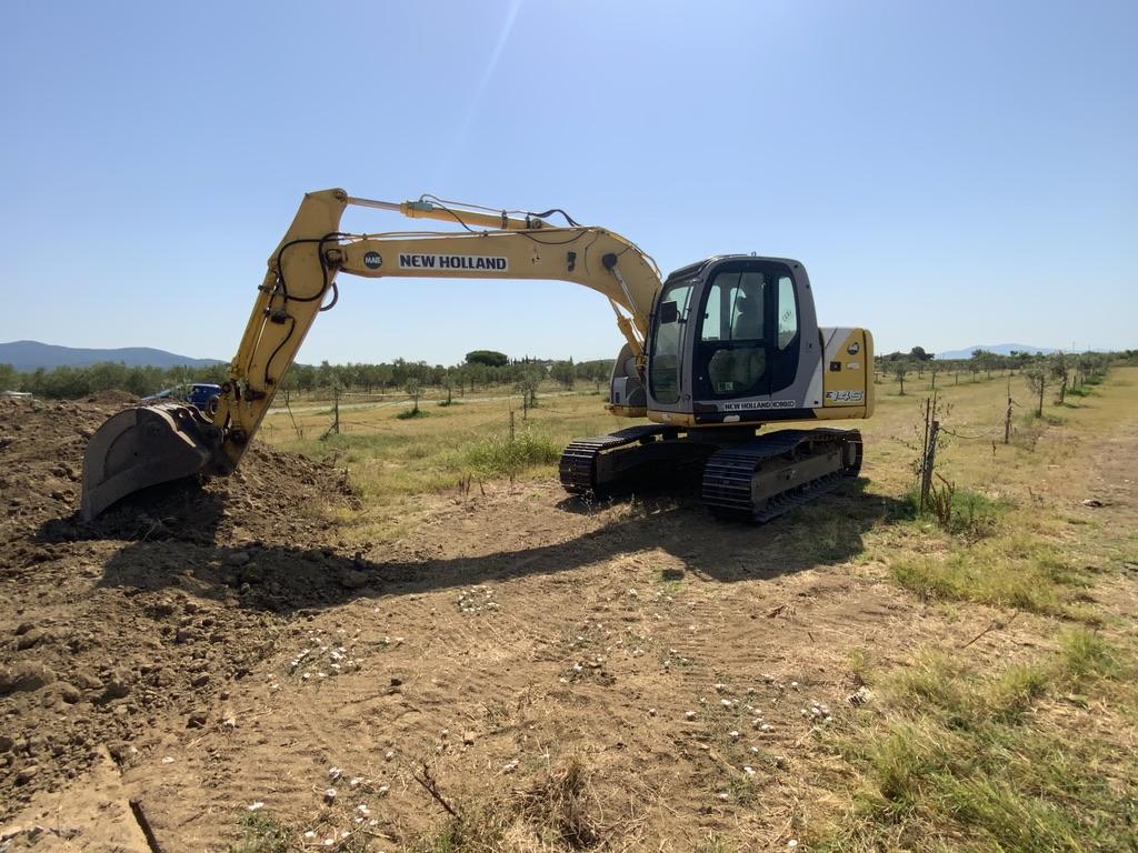 Escavazione Per Fondamenta